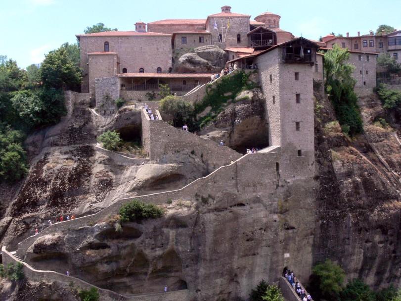Meteora: Kloster der Verklärung Christi.
